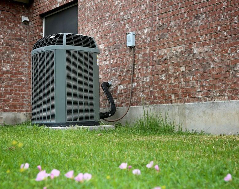 Clean HVAC unit   Fritts Heat and Air