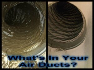 Before & After Air Ducts | Fritts Heat & Air